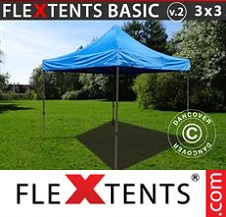 Eventtält FleXtents Basic 2,6x5,14m, Svart