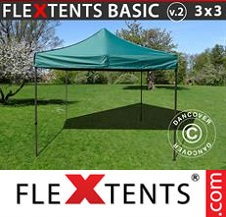 Eventtält FleXtents Basic 3x3m Grön