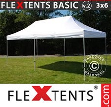 Eventtält FleXtents Basic 3x6m Vit