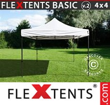 Eventtält FleXtents Basic 4x4m Vit