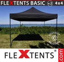 Eventtält FleXtents Basic 4x4m Svart
