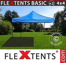 Eventtält FleXtents Basic 4x4m Blå