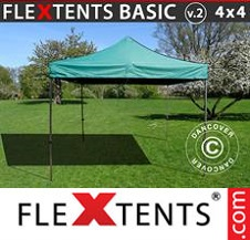 Eventtält FleXtents Basic 4x4m Grön