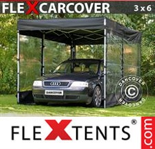 Eventtält FleXtents Basic 3x6m, Svart