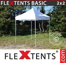 Eventtält FleXtents Basic 2x2m Vit