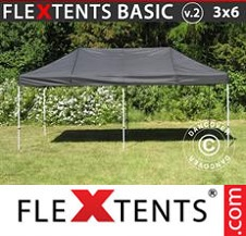 Eventtält FleXtents Basic 3x6m Svart