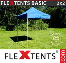 Eventtält FleXtents Basic 3x6m Svart, inkl. 6 sidor