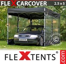 Eventtält FleXtents Basic 2,5x5m, Svart