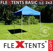 Eventtält FleXtents Basic 3x6m Vit, inkl. 6 sidor